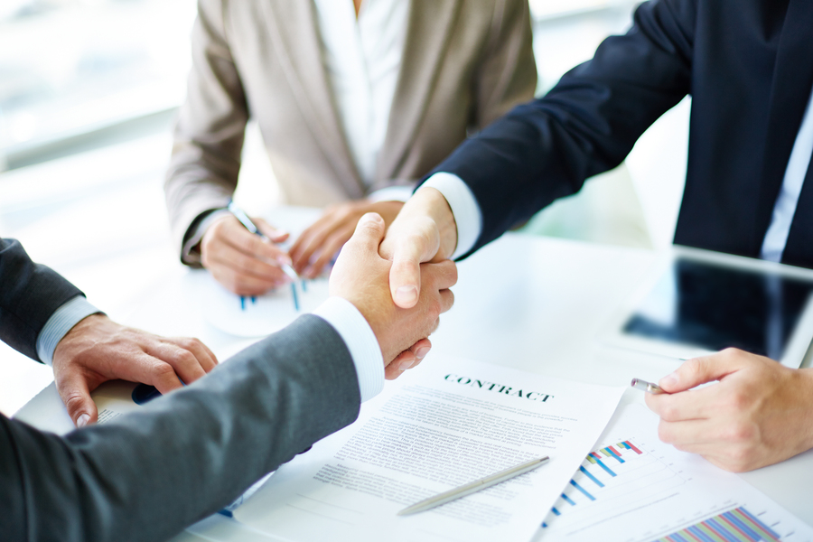 Choice of service provider and contract agreement